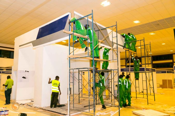 Exhibition Booths Kenya : Exhibition stands construction partition schemes in